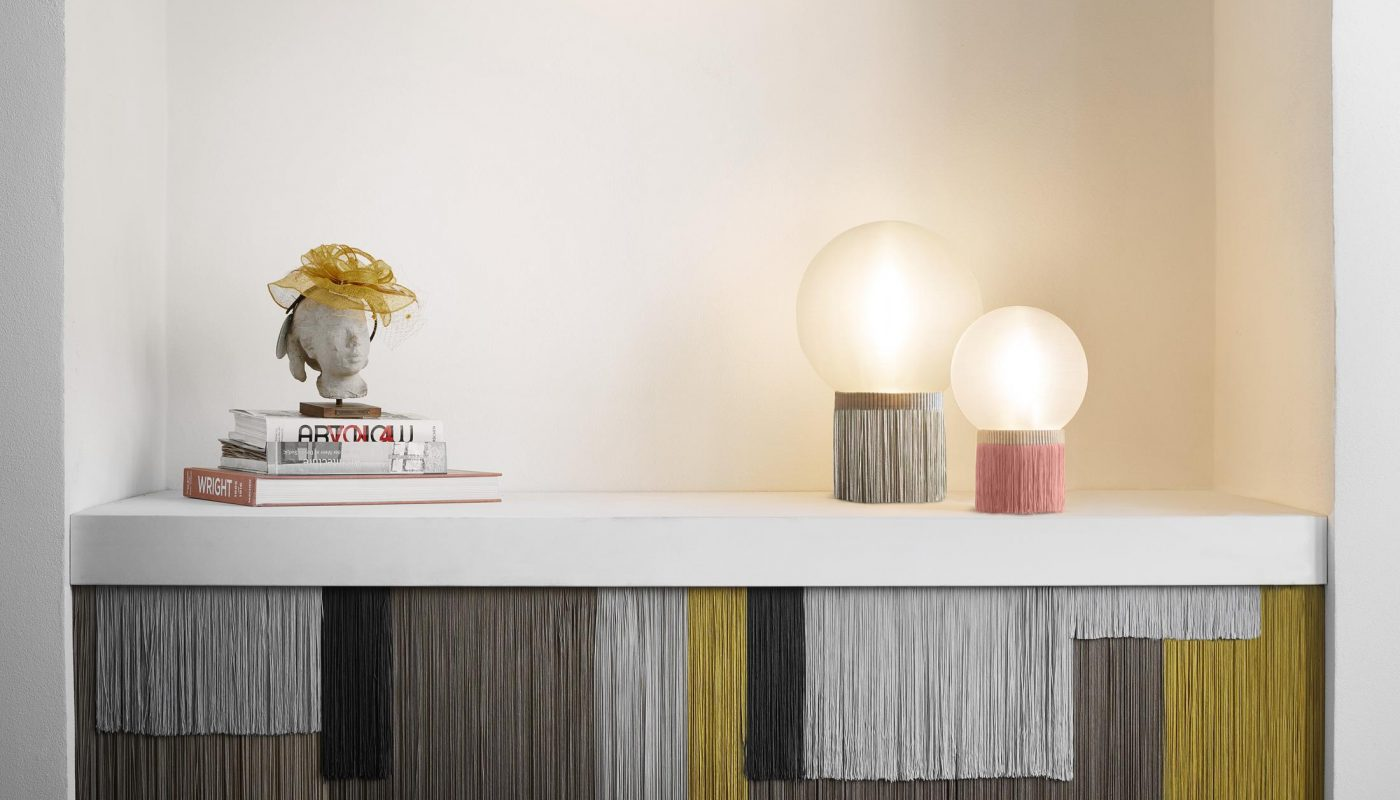 SLAMP Atmosfera Fringe Table by L.Bozzoli